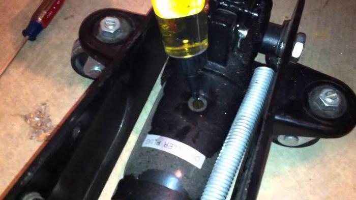 гидравлический домкрат устройство ремонт