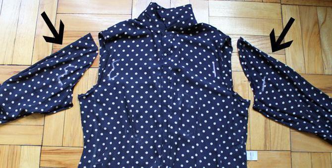 сшить блузку из шифона без выкройки