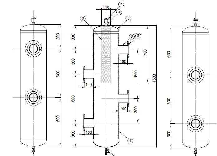 capacitive hydraulic separator