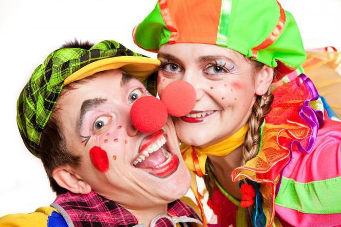 Сценарий игровой программы для детей с клоунами