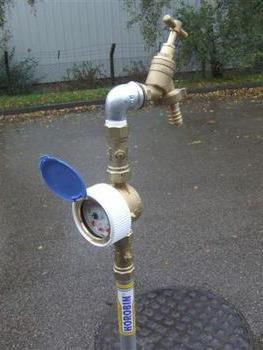 outdoor standpipe