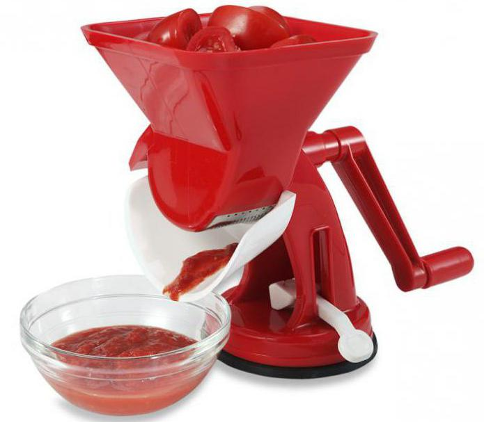 Manual Juicer for Tomatoes