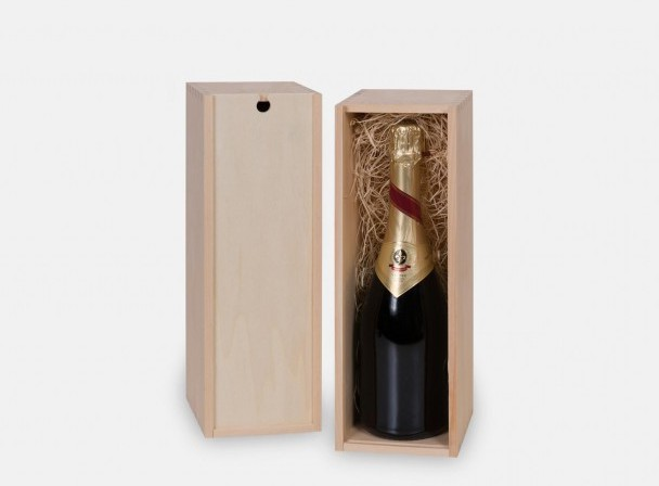 how many bottles in a box of champagne Abrau Durso