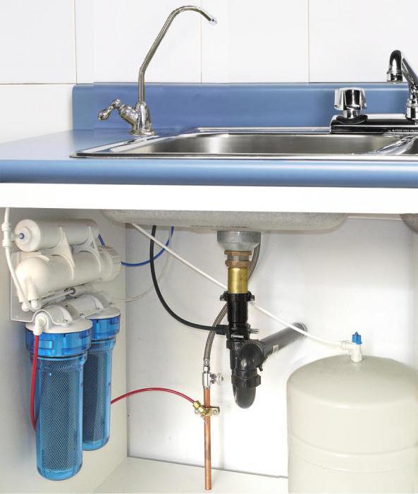 Монтаж фильтра воды своими руками
