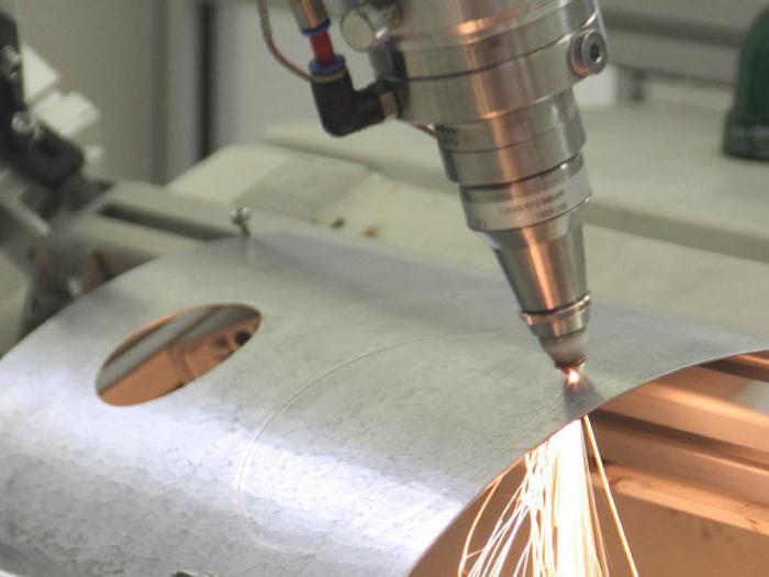 Cutting of metal