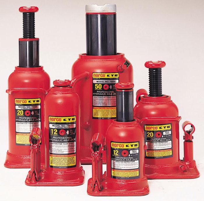 гидравлические бутылочные домкраты matrix