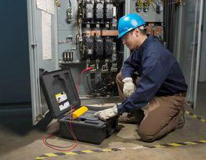 Measurement of electrical insulation resistance