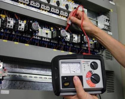 Insulation resistance measurement