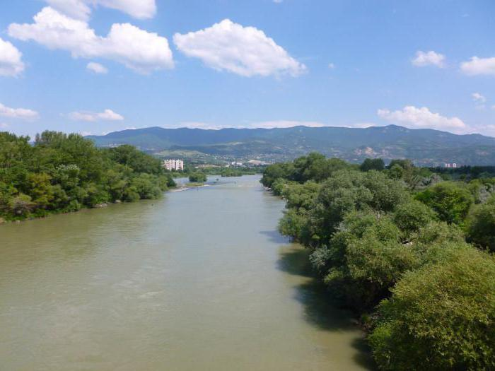 Правый приток Куры