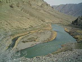 Правый приток реки Куры