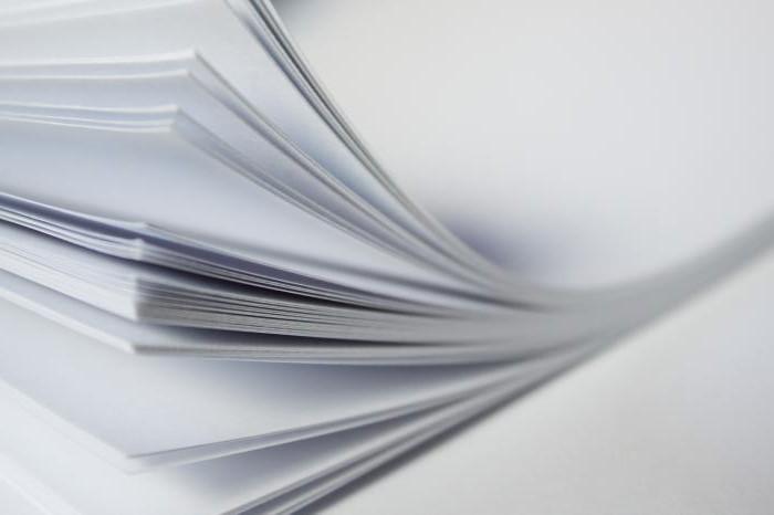 coated paper density