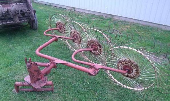 Грабли колесные для мотоблока
