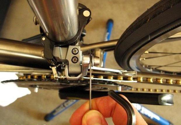 переключатель скоростей на велосипед на руле ремонт