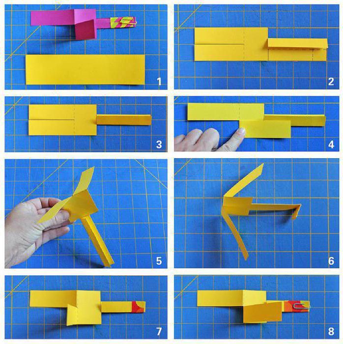 Как сделать из бумаги вертолетики