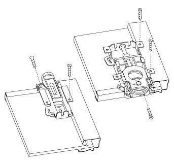 Sliding gates. Hardware drawings