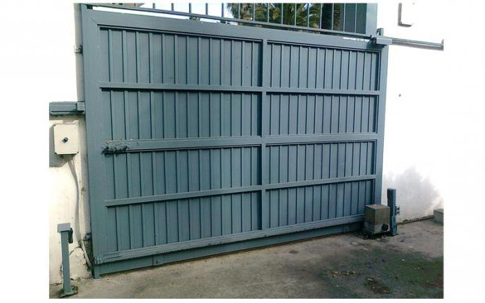 Accessories for sliding gates in Moscow