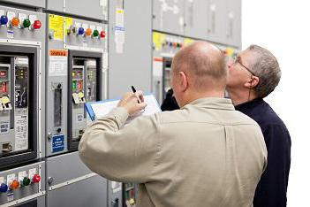 assignment of an electrical safety group