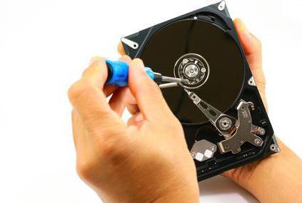 Ремонт съемного жесткого диска
