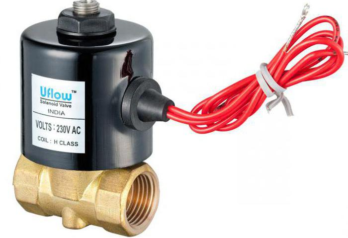 normally closed solenoid valve