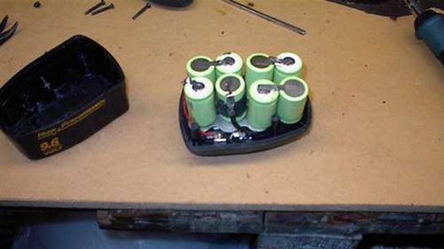 Ремонт аккумуляторов для шуруповерта своими руками