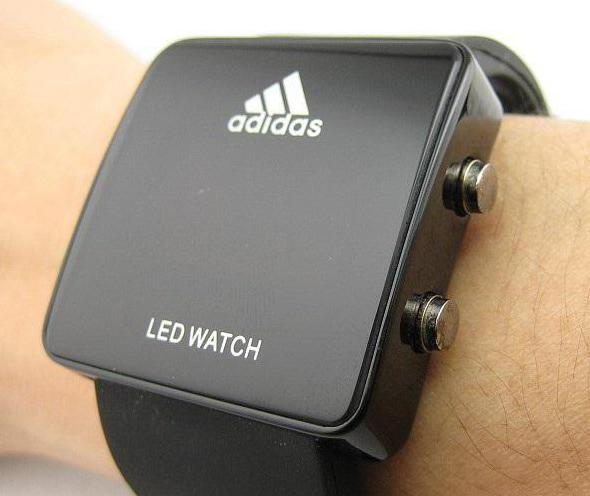часы адидас led watch оригинал