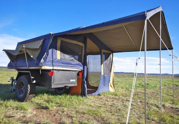 самодельная прицеп палатка фото том