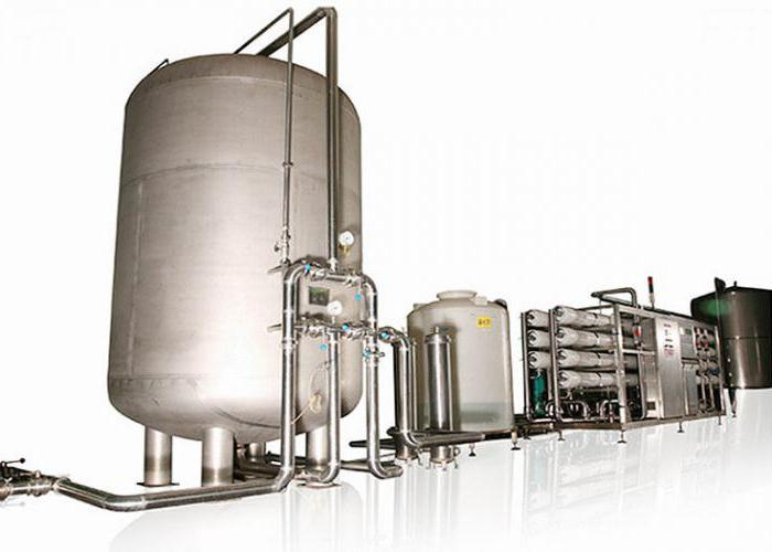 industrial filters for water purification from iron