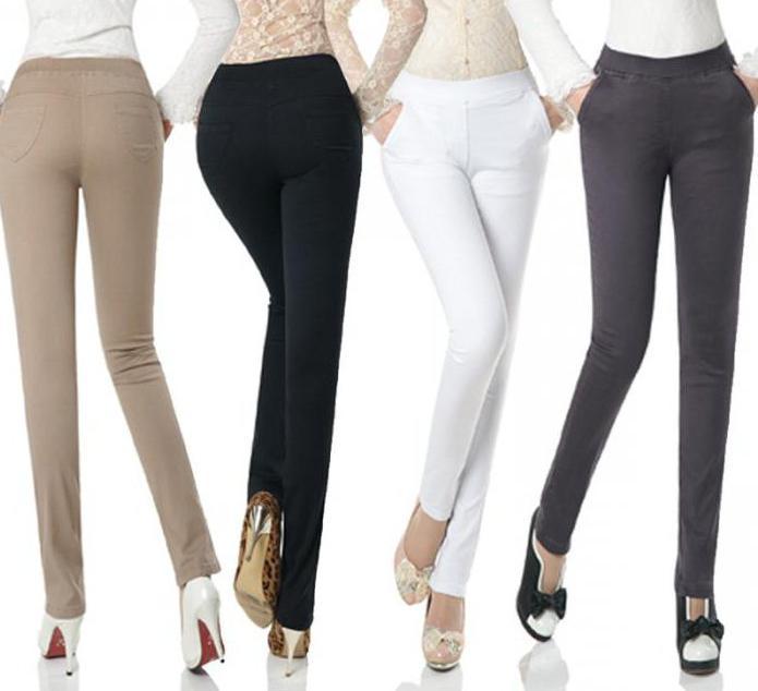 Сшить брюки женские классика 70
