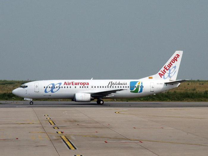 Самолет Боинг 737-400