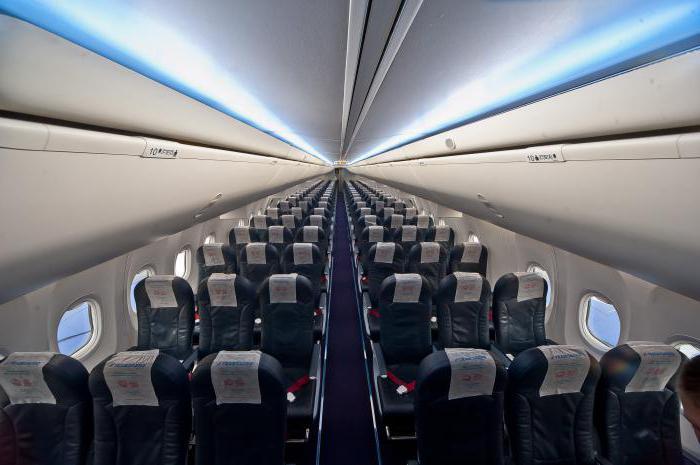 Салон Боинга 737-400 Трансаэро