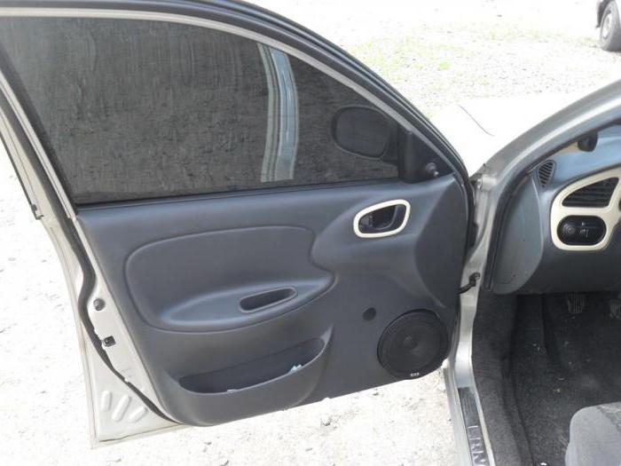 подиум для колонок в машину