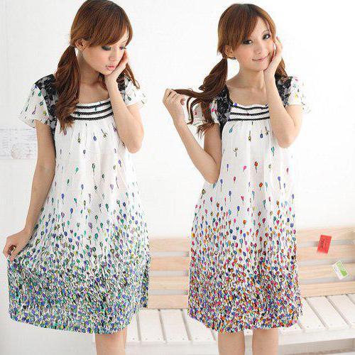 летнее платье для беременных выкройка