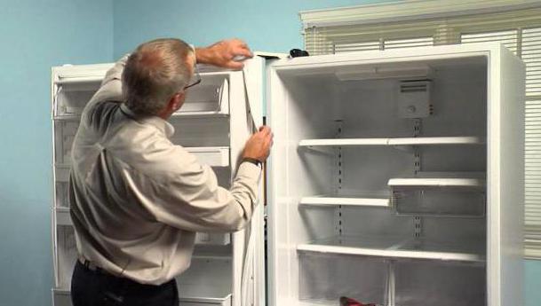 Замена резинок дверей холодильника индезит своими руками
