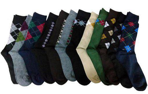 Sizes of wool socks