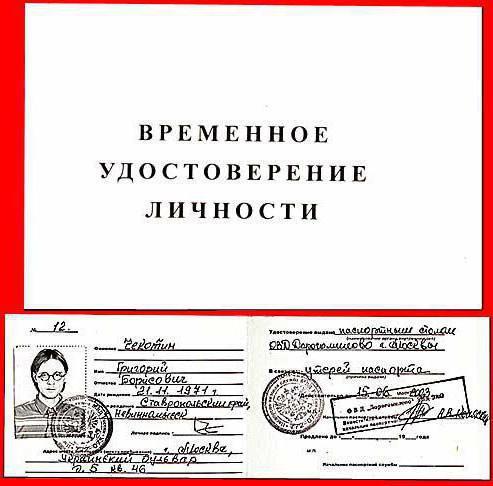 Где получить временный паспорт