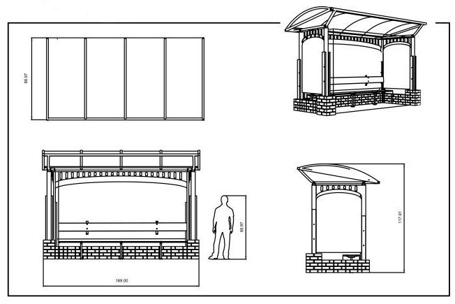 автобусные остановки гост