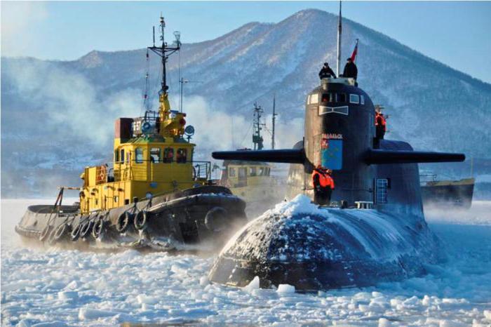 northern fleet of Russia
