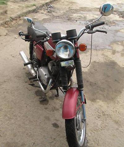 Motorcycle java 634