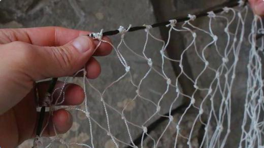 Рыбацкая сеть своими руками фото 447
