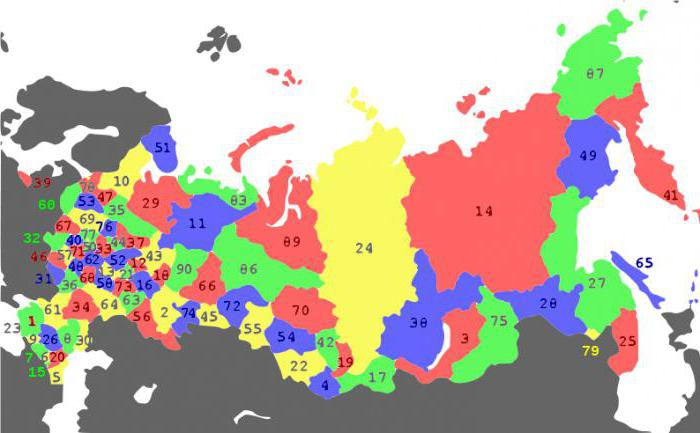 how many subjects in the Russian Federation