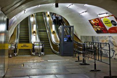 Moscow metro Sukharevskaya