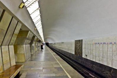 Sukharevskaya metro scheme