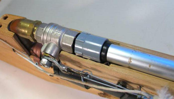 Пневматические винтовки для своими руками
