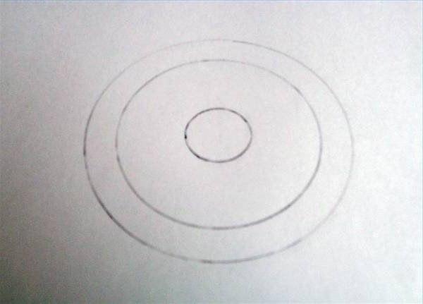 Знак радиации поэтапно 19