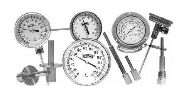 bimetallic thermometer wika