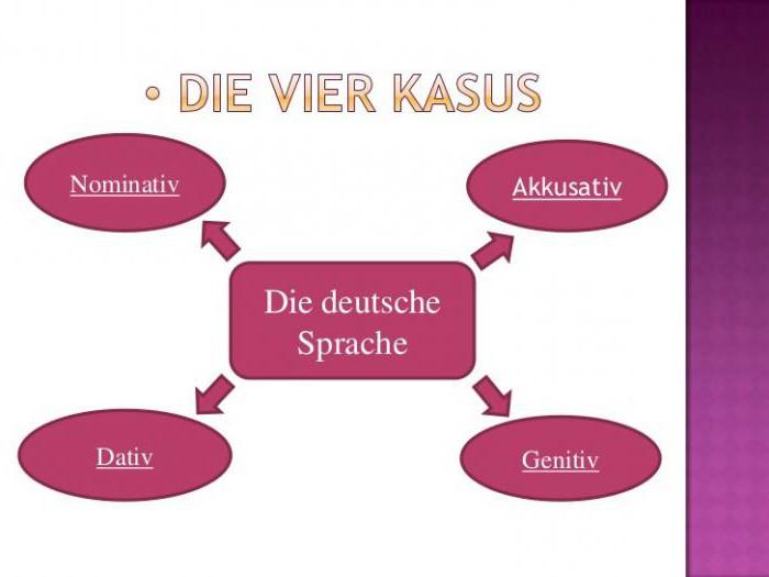 cases in german language