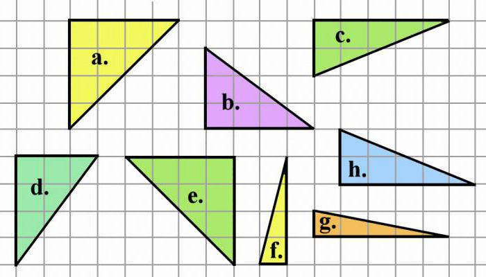 the area of the triangle depicted on checkered paper