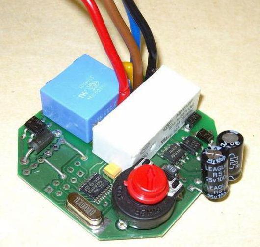impulse relay circuit DIY