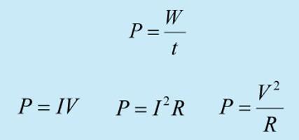 работа электрического тока формула