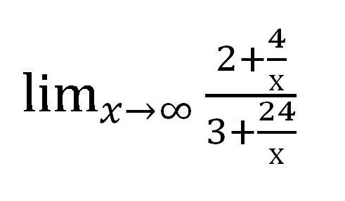 Как вычислить предел последовательности